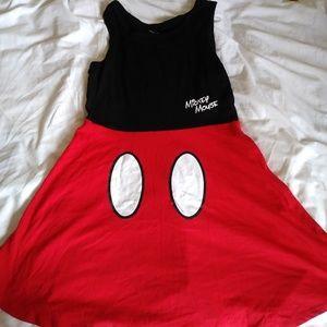 Disney Girls Mickey Mouse Travel Pants Dress